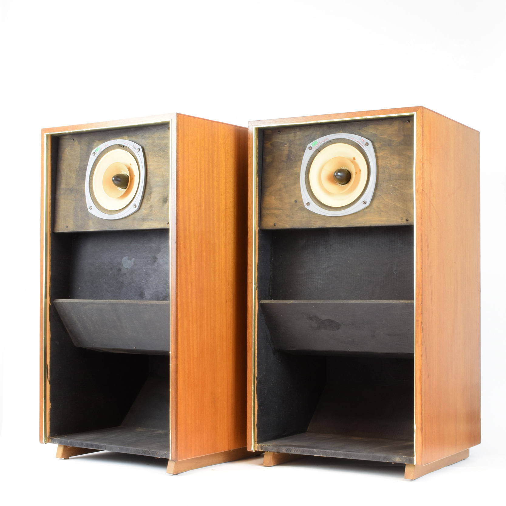 Lowther PM6A Loudspeakers In Acousta Cabinets 1957 WORKS Of DESIGN