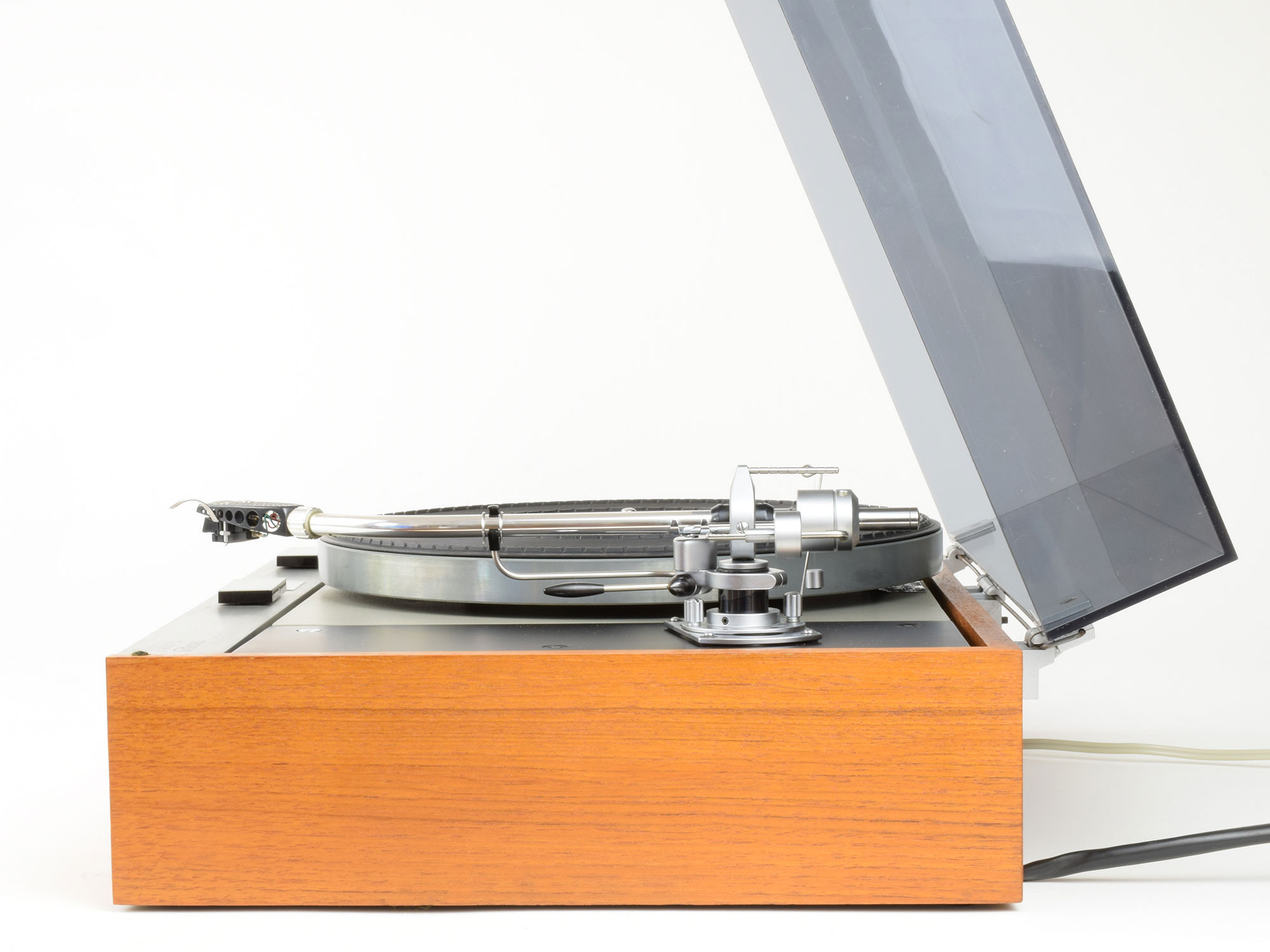 thorens td 125 mkii turntable 1972 with sme 3009 series